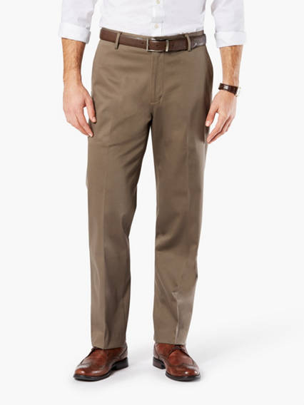 Men's Ultimate Iron Free Khaki Pants, Classic Fit