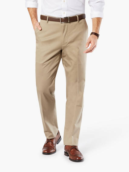 Ultimate Iron Free Khaki Pants, Straight Fit
