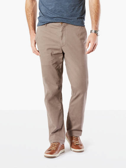 Big &Tall Washed Khaki Pants