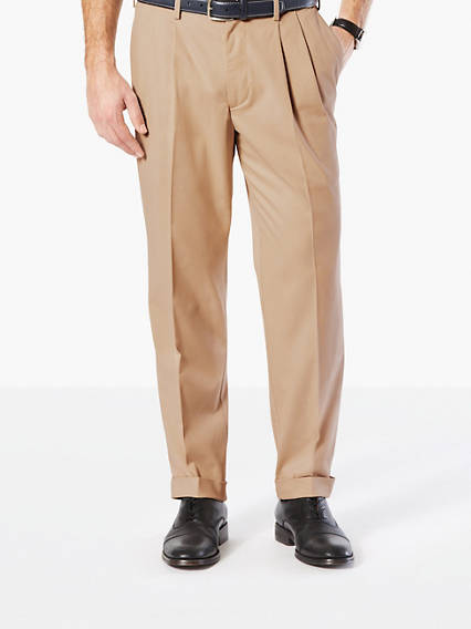 Comfort Khaki Pleat, Classic Fit