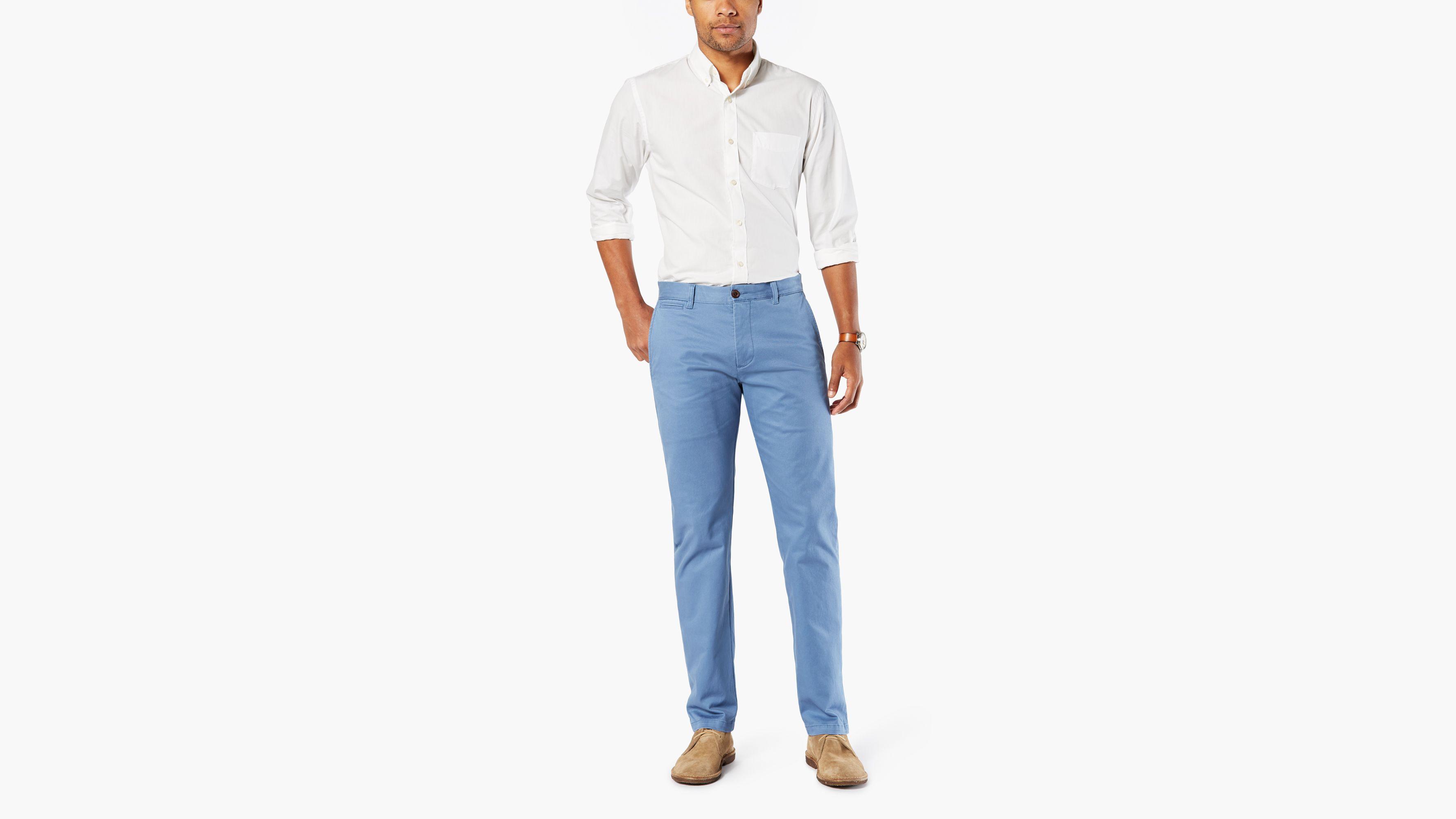 Homme Pantalons Slim Fr Tapered Dockers® Blue tBBw8qZr