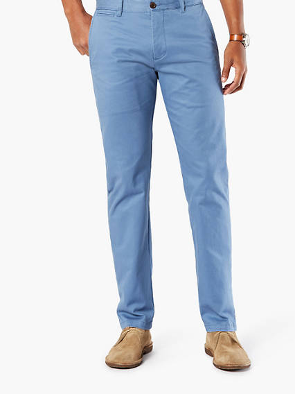 Refined Khaki Marina, Slim Tapered - Stretch Twill