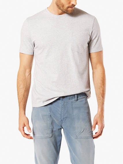 Crew Neck T-Shirt, Slim Fit