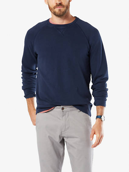 Dockers Crewneck Sweatshirt - Men's 2XLT A casual favorite versatile enough to wear anyday, anywhere Crewneck Sweatshirt - Men's 2XLT - Pembroke. Dockers Official Site.