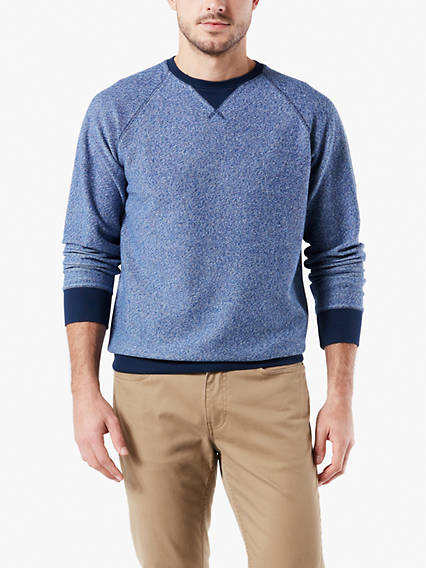 Men's Crewneck Reverse Terry Sweatshirt