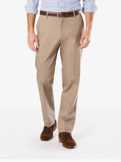 Men's Signature Stretch Khaki Pants, Classic Fit