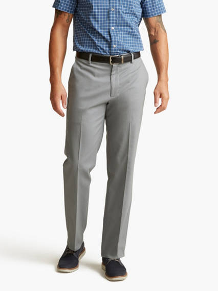 Signature Stretch Khaki Pants, Classic Fit