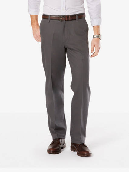 Men's Signature Stretch Khaki Pants, Relaxed Fit