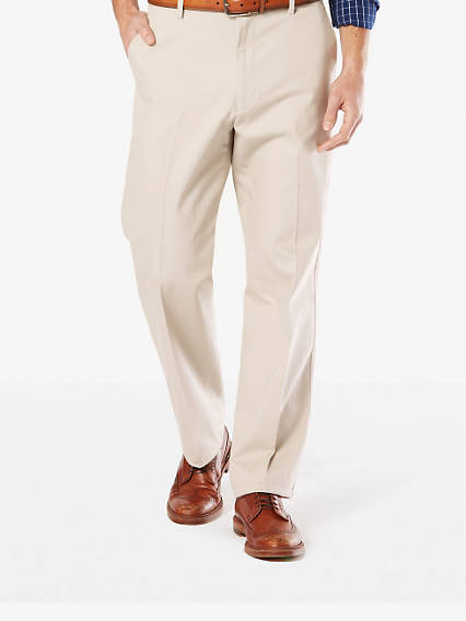 Signature Stretch Khaki, Relaxed Fit