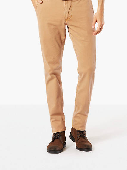 Premium Washed Khaki, Slim Tapered