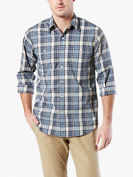 2 Pocket Work Button-Up Shirt