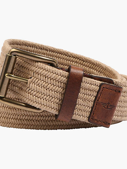 The Haight Stretch Braid Belt