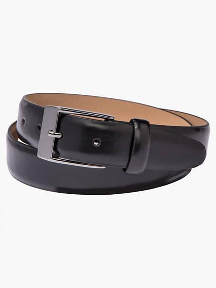 Creased Edge Strap Belt
