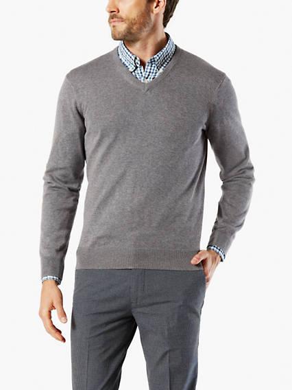 V,Neck Sweater