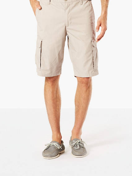 Washed Cargo Short, Classic Fit
