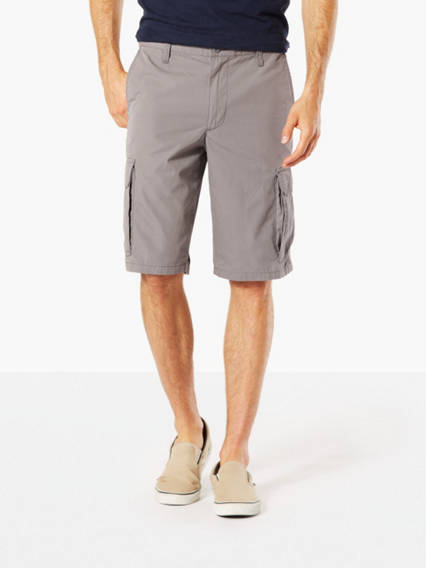 Washed Cargo Shorts, Classic Fit