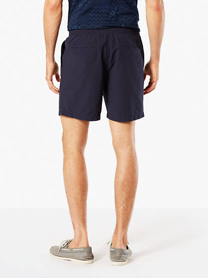 fdb15d74a0 The Weekend Cruiser Shorts, Slim Fit - Blue 297080009 | Dockers® US