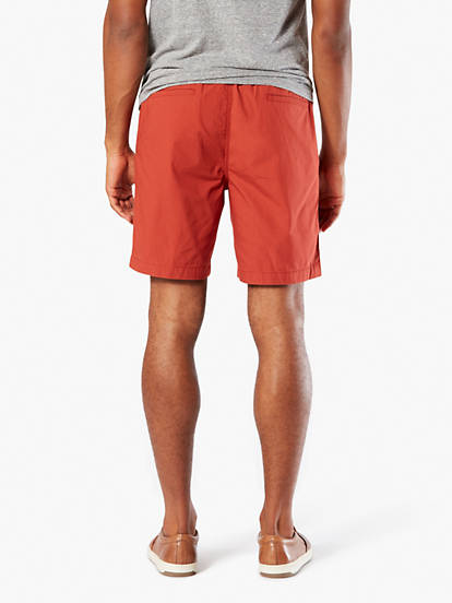 8b5a7c5aa0 The Weekend Cruiser Shorts, Slim Fit - Red 297080023 | Dockers® US