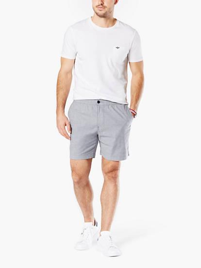 b476b0b2f6 The Weekend Cruiser Shorts, Slim Fit - Blue 297080024 | Dockers® US