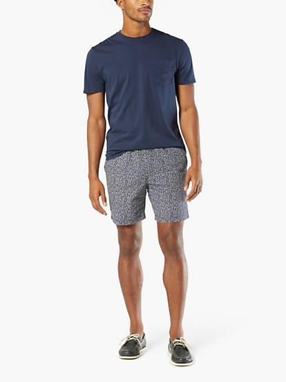 17b863d532 The Weekend Cruiser Shorts, Slim Fit - Blue 297080029 | Dockers® US