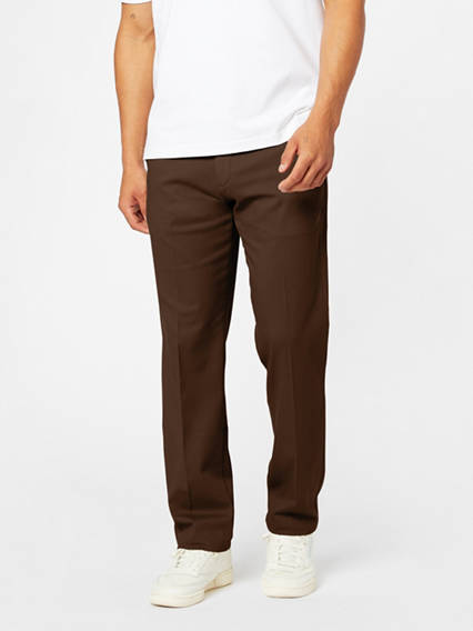 Easy Stretch Khaki Pants, Straight Fit