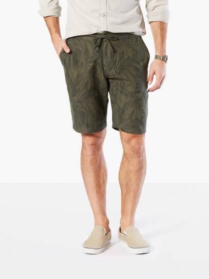 Premium Linen Drawcord Shorts