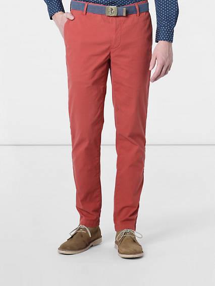 Premium Clean  Marina Khaki, Extra Slim Fit