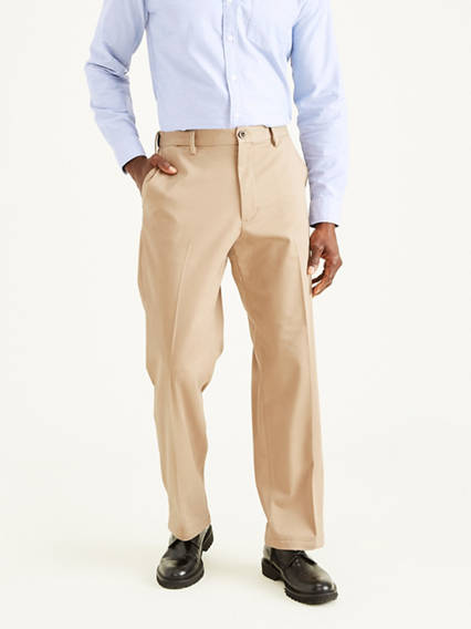 Easy Stretch Khaki Pants, Classic Fit
