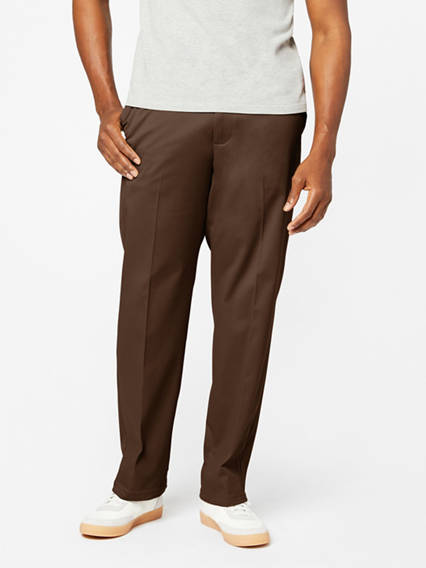 Easy Stretch Khaki Pants, Classic Fit