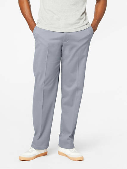 Men's Easy Stretch Khaki Pants, Classic Fit