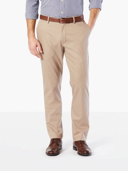 Clean Khaki Pants, Athletic Fit