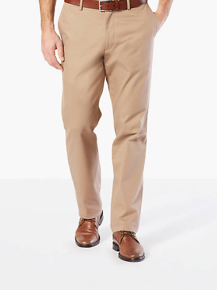 Refined Chino, Straight Fit - Stretch Twill