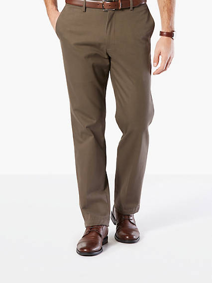 Refined Khaki, Straight Fit - Stretch Twill