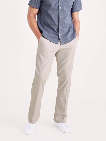 Men's Big & Tall Easy Stretch Khaki Pants
