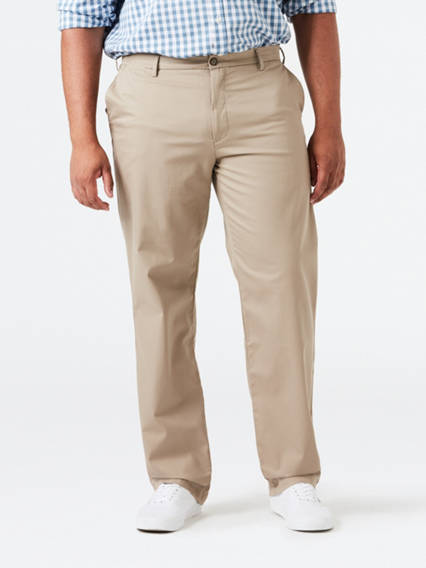 Big & Tall Clean Khaki Pants