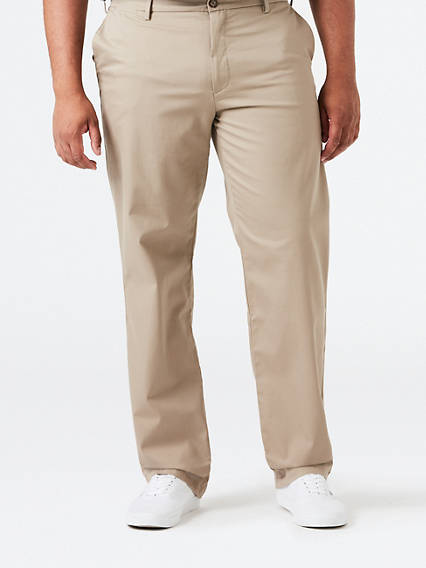BIG & TALL REFINED KHAKI  - STRETCH TWILL