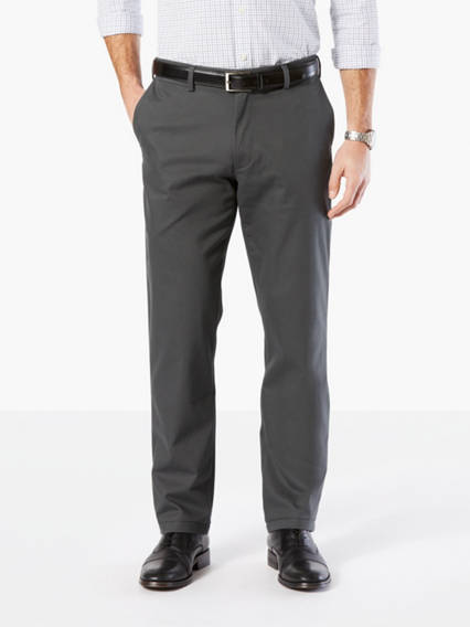 Men's Big & Tall Clean Khaki Pants