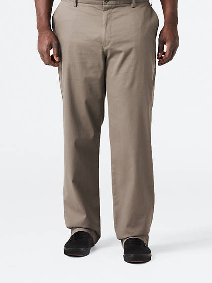 Big & Tall Clean Khaki