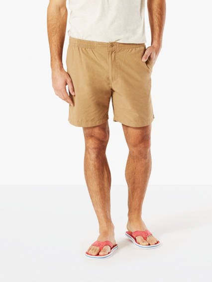 Men's Big & Tall Pull-On Shorts