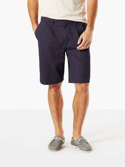 The Perfect Double Pleated Shorts, Classic Fit