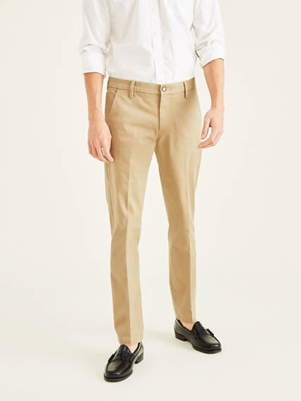Workday Khaki Pants With Smart 360 Flex™, Slim Tapered Fit