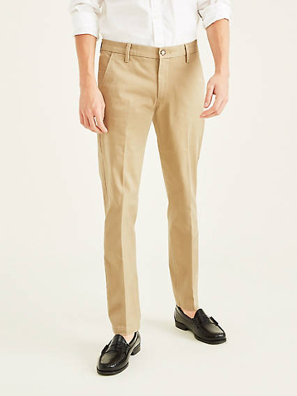 WORKDAY KHAKI WITH SMART 360 FLEX, SLIM TAPERED FIT