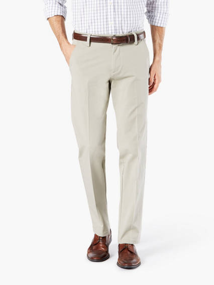 Men's Workday Khaki Pants, Slim Fit