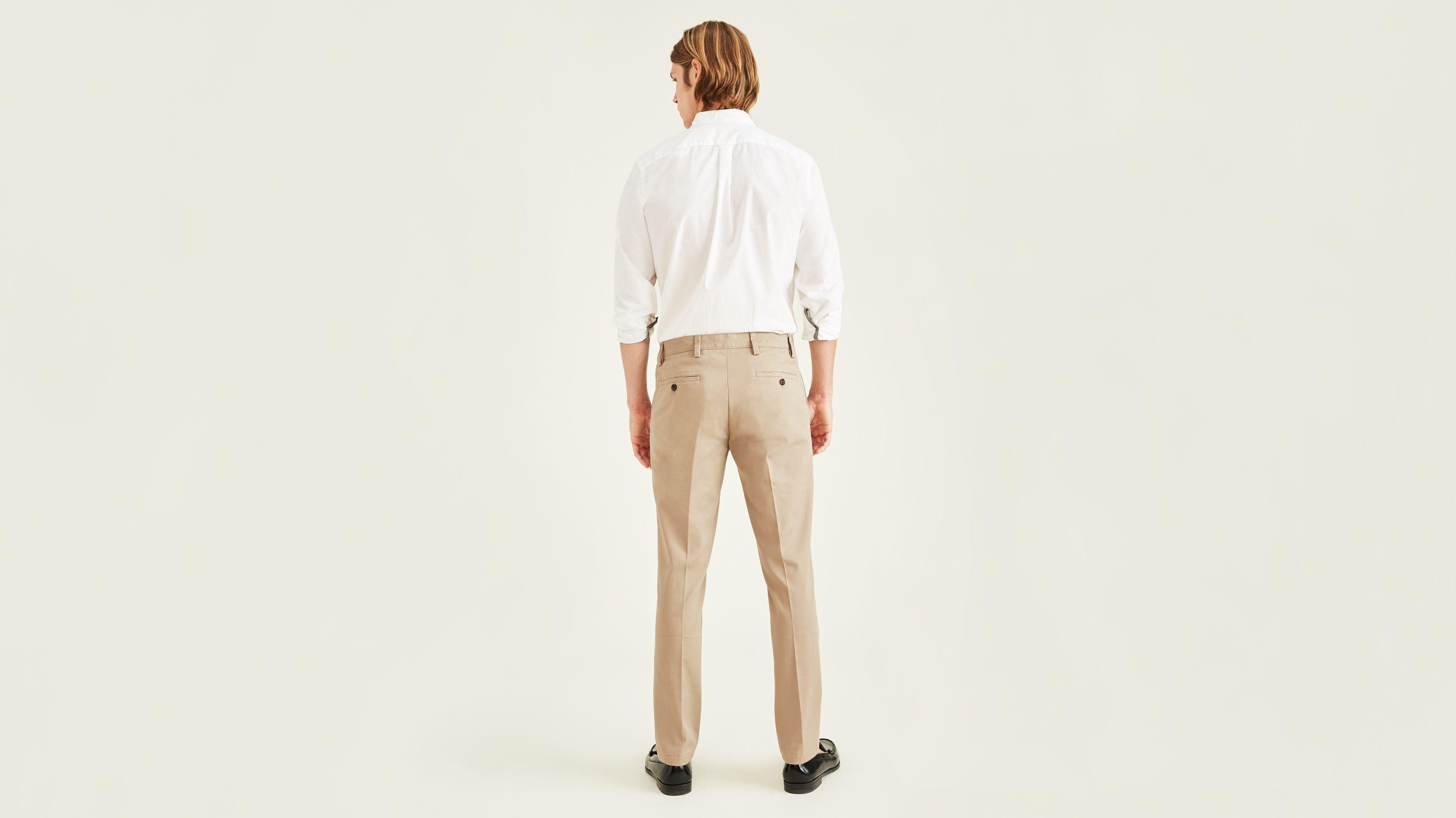 Dockers Men/'s Easy Khaki Slim Fit Pants