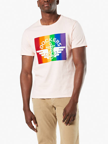 Men's Pride Logo Tee Shirt