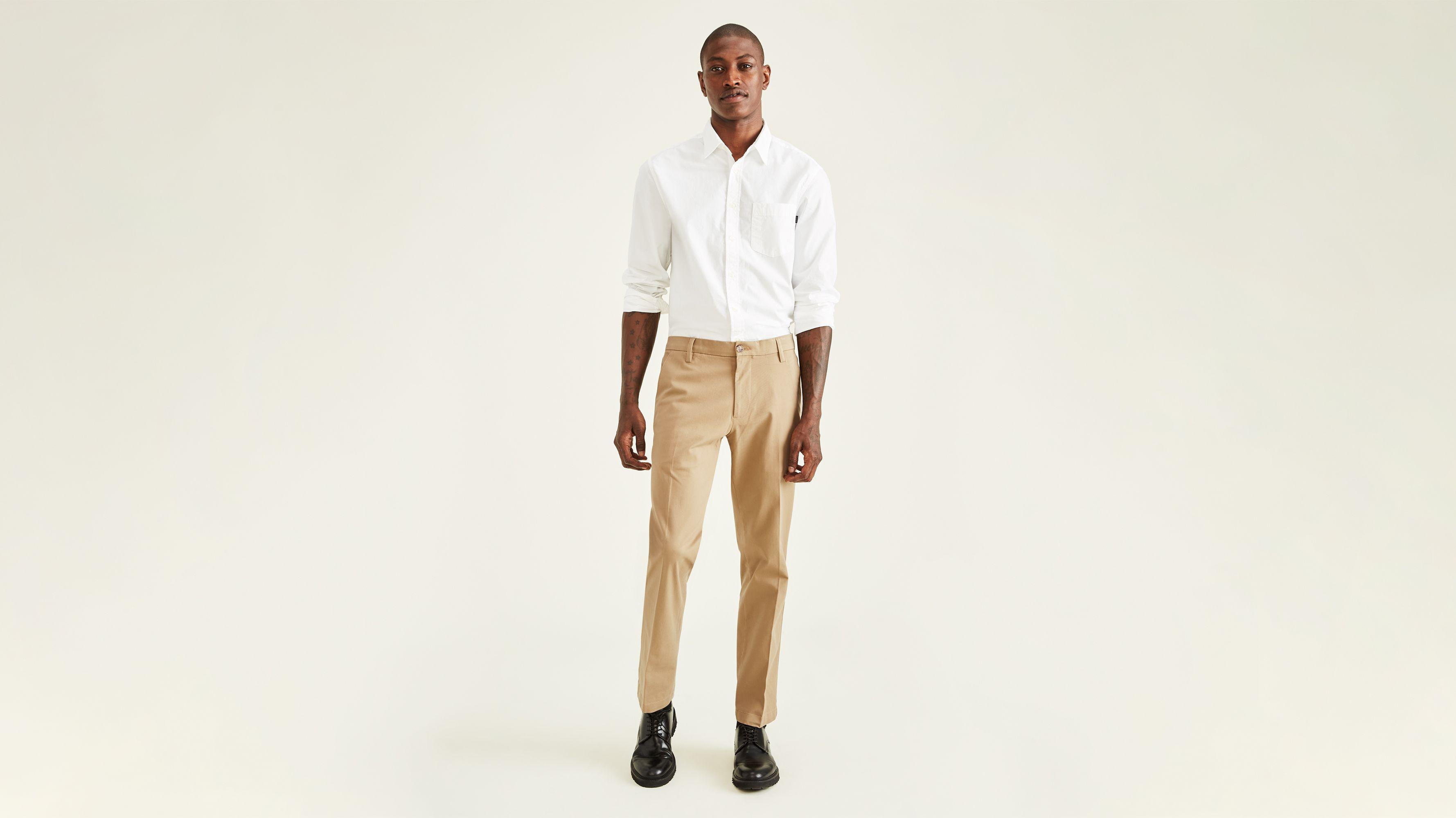 35756ff410 Workday Khaki Pants With Smart 360 Flex™