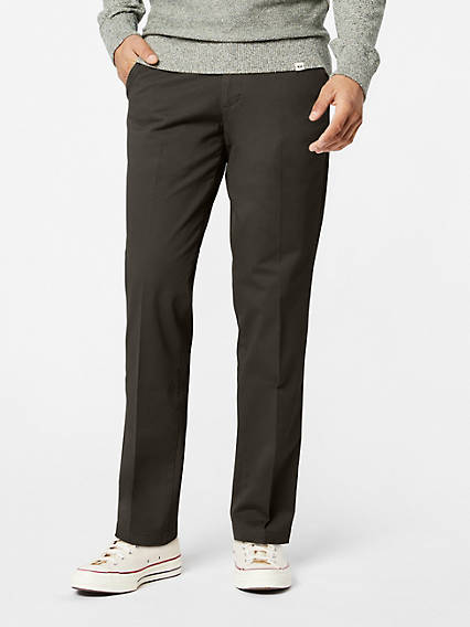 Workday Khaki With Smart 360 Flex™, Straight Fit