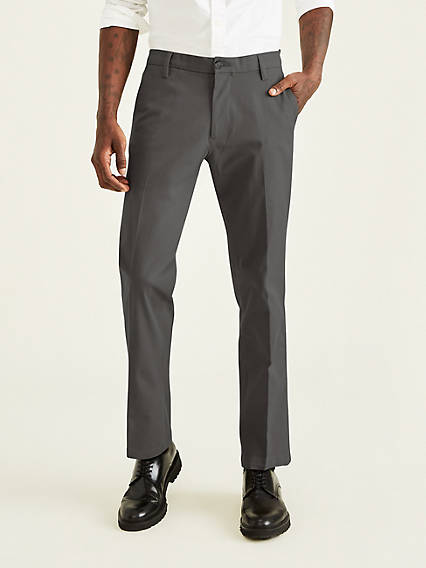 Workday Khaki with Smart 360 Flex, Straight Fit
