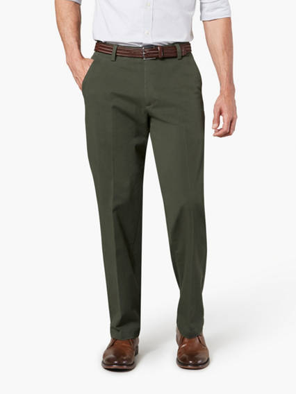 Workday Khaki Pants with Smart 360 Flex™, Straight Fit