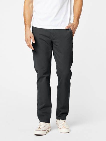 Alpha Khaki Pants With Smart 360 Flex™, Slim Tapered Fit